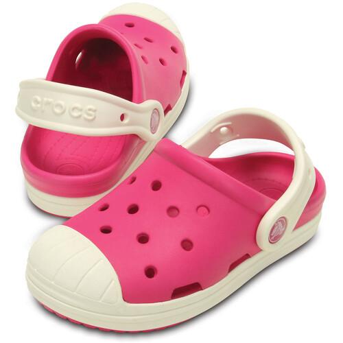 Crocs Bump It - Sandales Enfant - rose sur campz.fr !